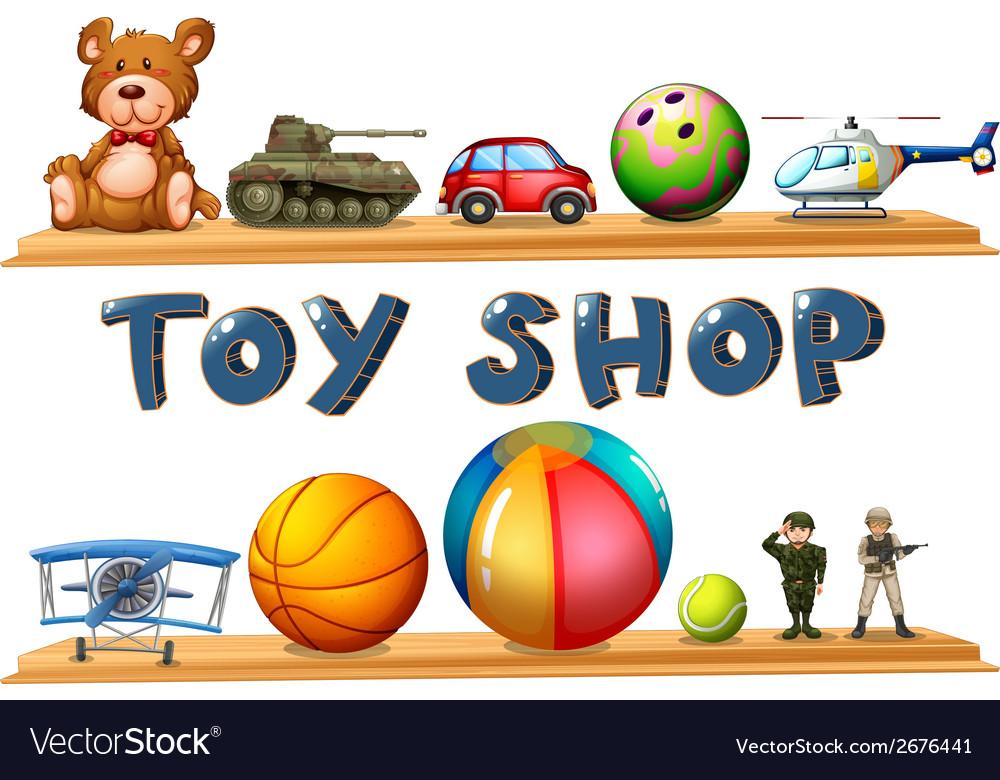 A toy shop vector | Price: 1 Credit (USD $1)