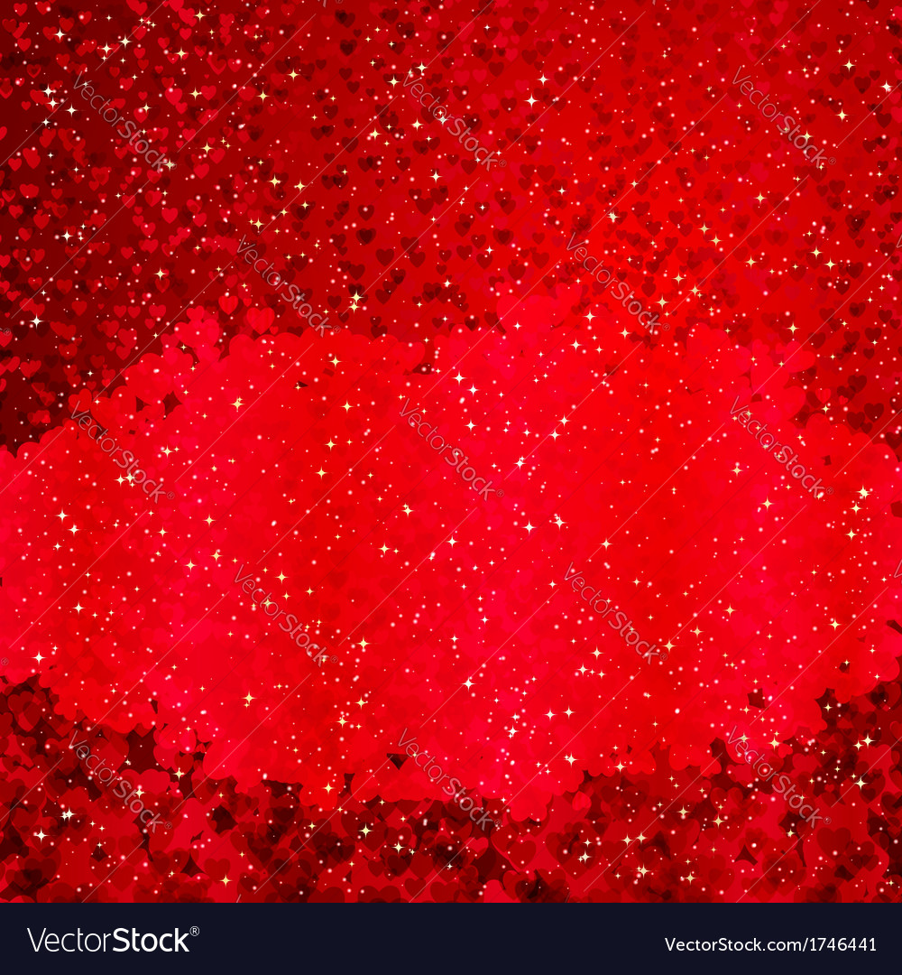 Background with with lots of hearts vector | Price: 1 Credit (USD $1)