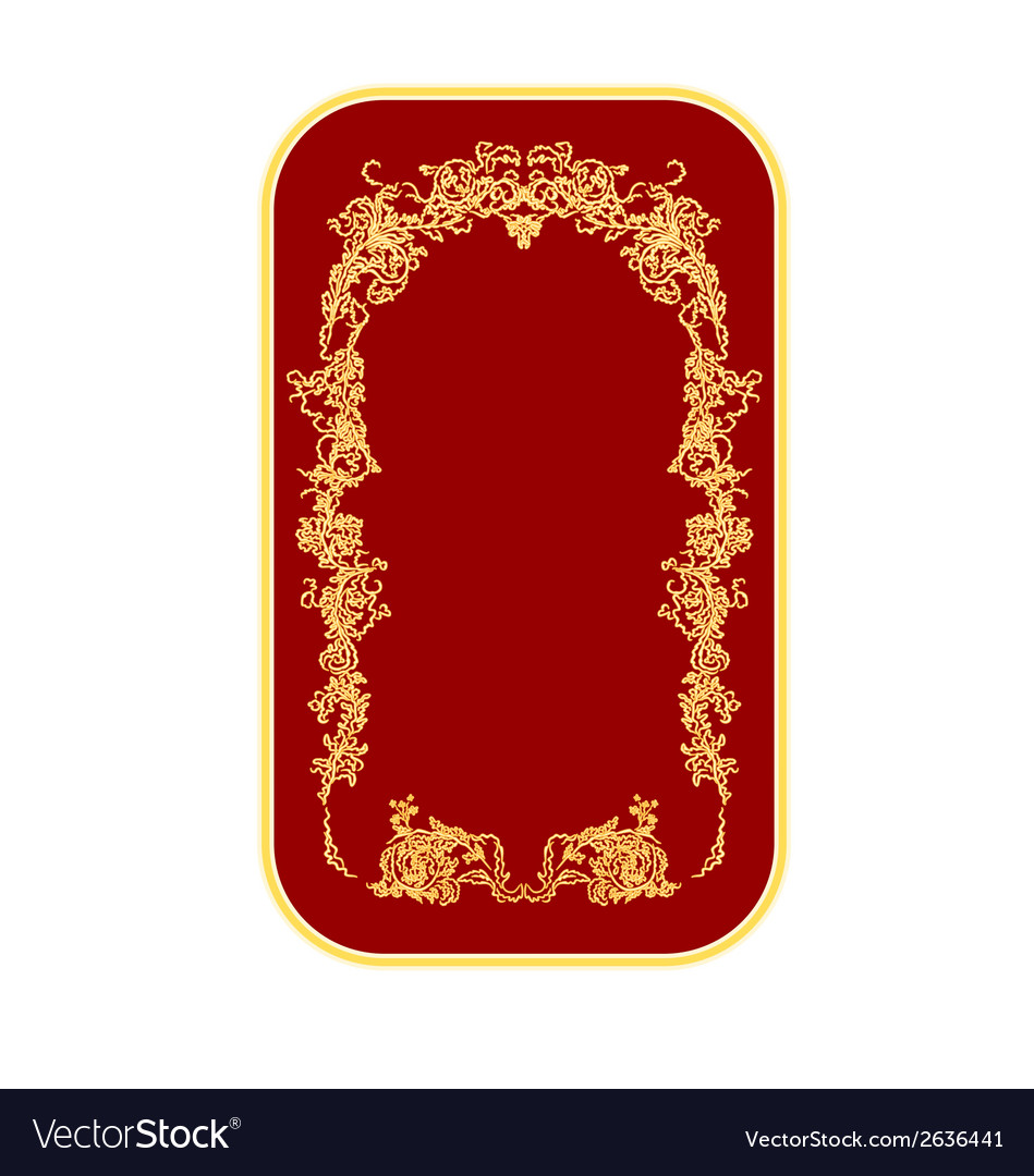 Bussines card ornaments vintage vector | Price: 1 Credit (USD $1)