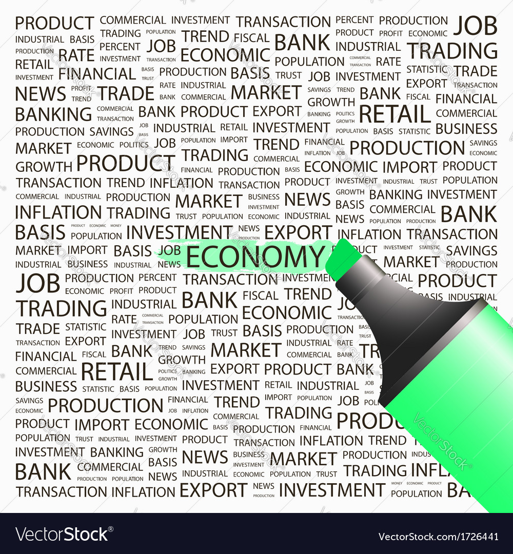 Economy vector | Price: 1 Credit (USD $1)