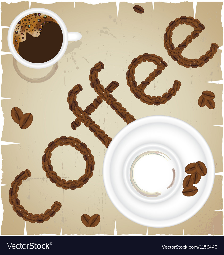 Coffee time abstract vector | Price: 1 Credit (USD $1)