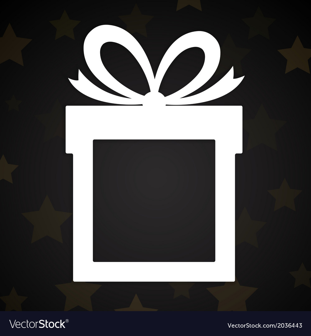 Paper gift box vector | Price: 1 Credit (USD $1)