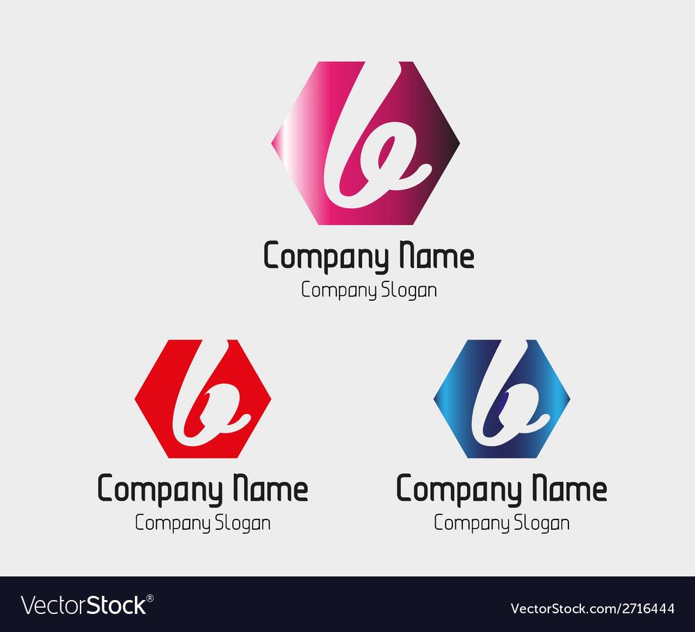 B letter logo - symbol letter b vector | Price: 1 Credit (USD $1)