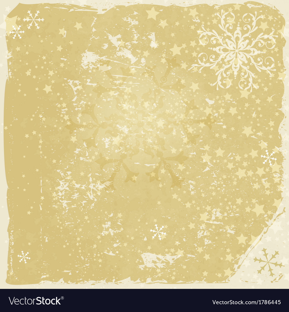 Grungy christmas frame vector | Price: 1 Credit (USD $1)