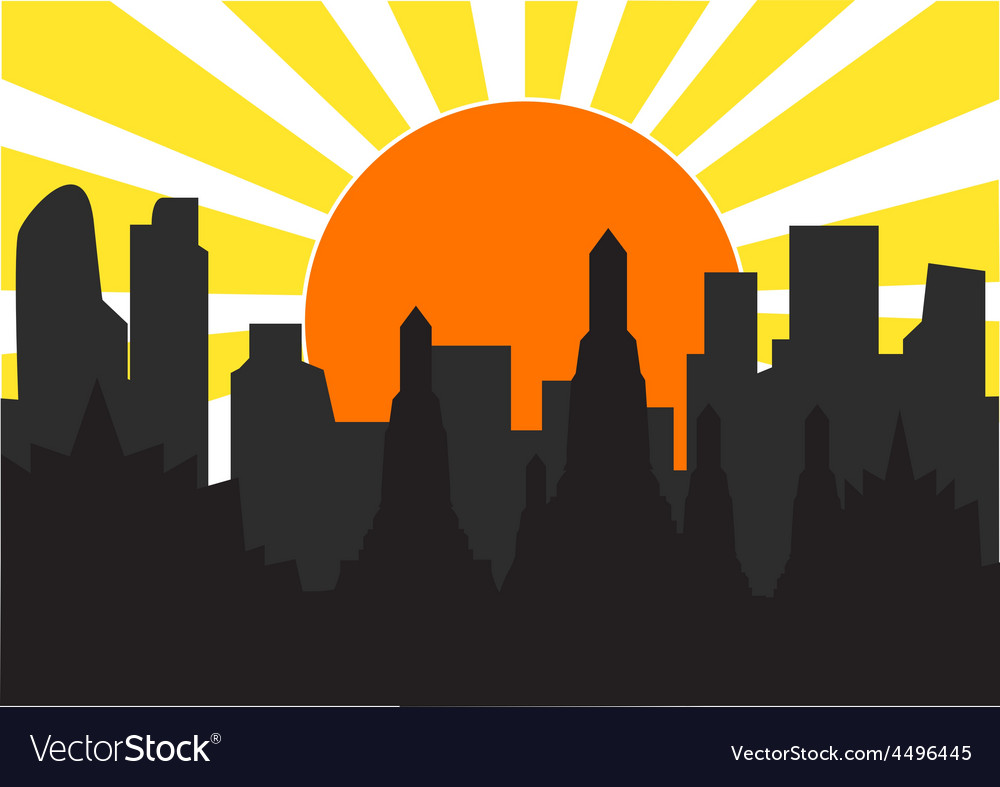 Highrise temple 3 vector | Price: 1 Credit (USD $1)