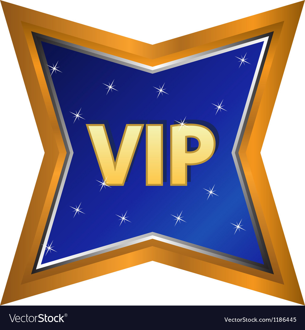 Vip symbol vector | Price: 1 Credit (USD $1)