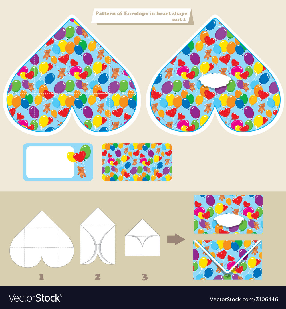 Envelope baloons 380 vector | Price: 1 Credit (USD $1)