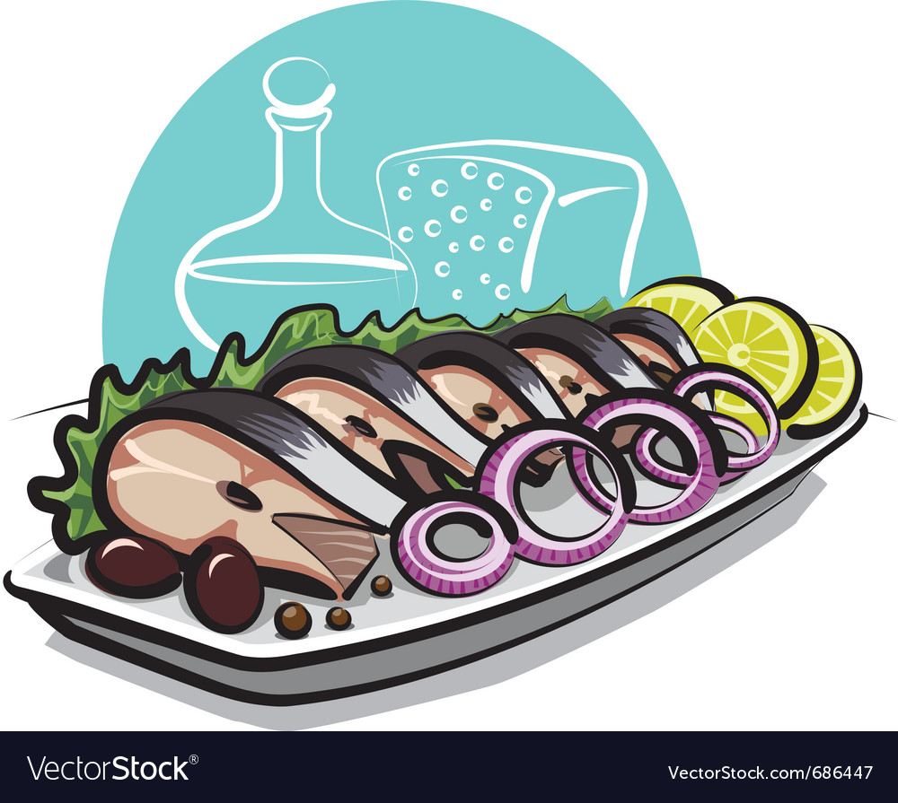 Salty herring vector | Price: 3 Credit (USD $3)