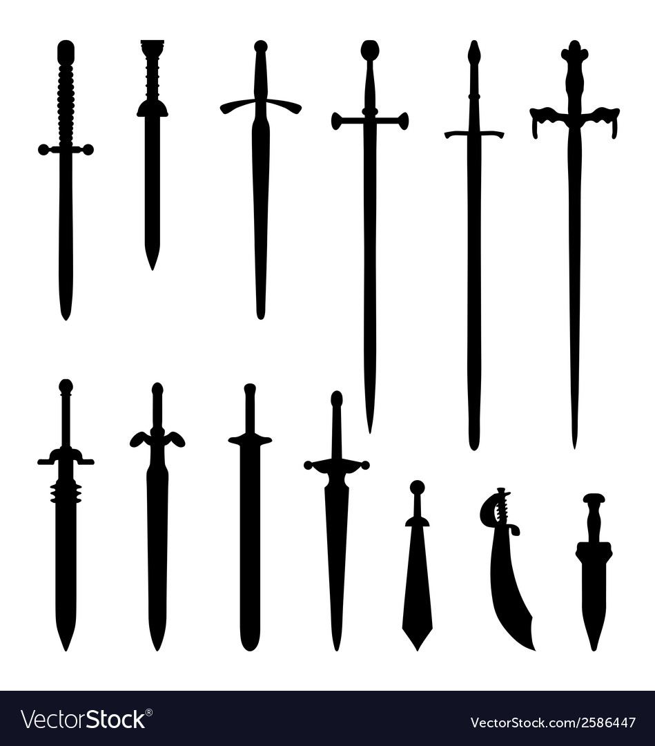 Swords vector | Price: 1 Credit (USD $1)