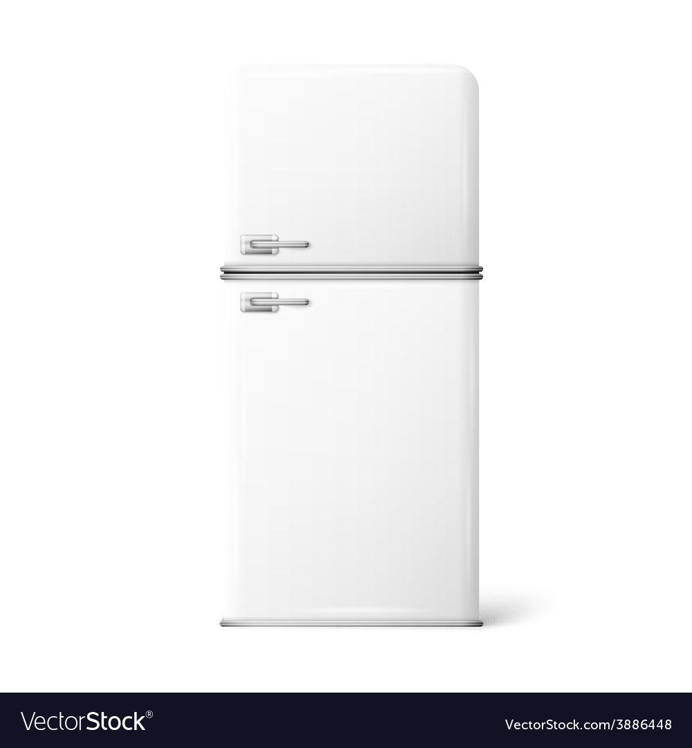 A retro fridge vector | Price: 1 Credit (USD $1)