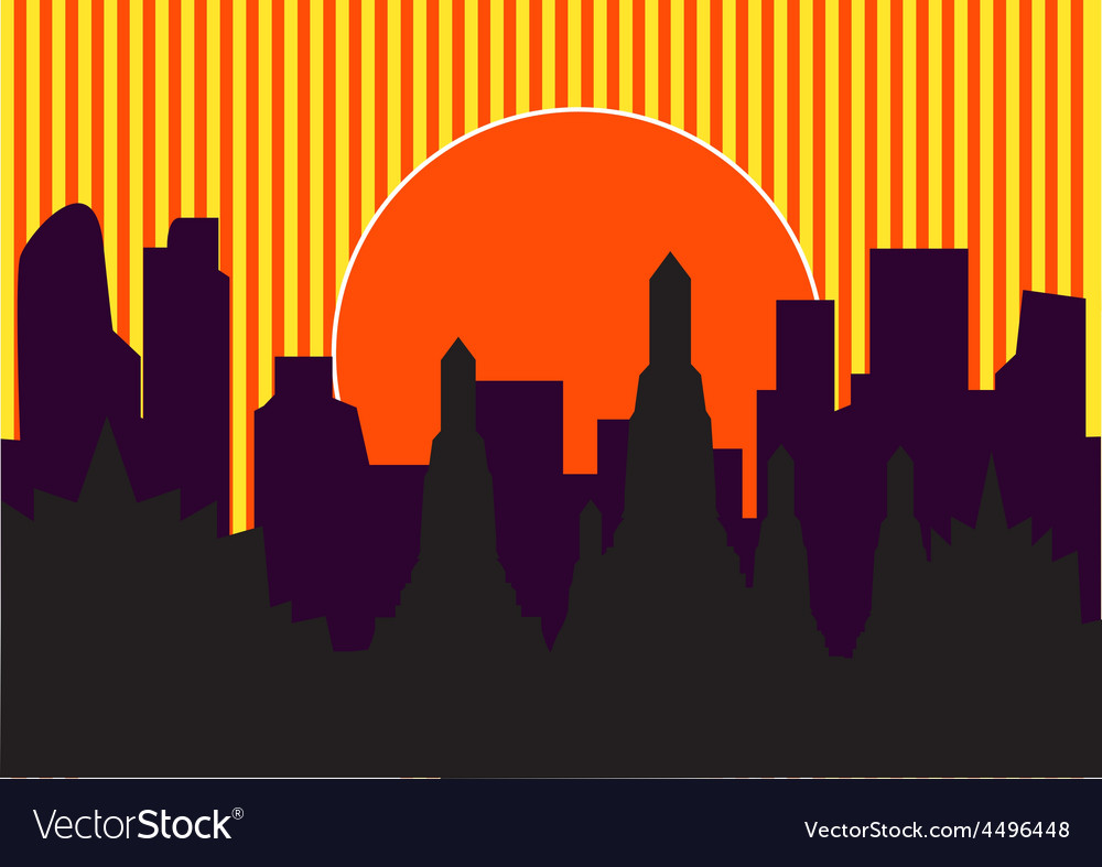 Highrise temple 4 vector | Price: 1 Credit (USD $1)