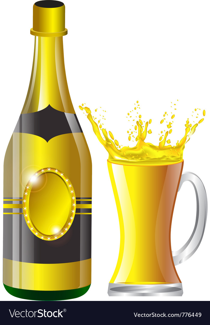Beer bottle vector | Price: 3 Credit (USD $3)