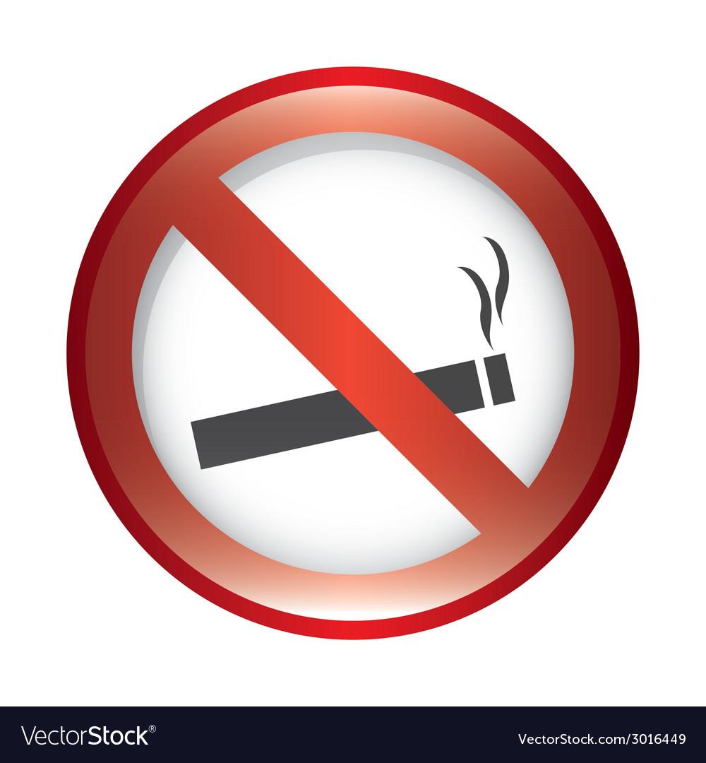 Forbidden smoking design vector | Price: 1 Credit (USD $1)