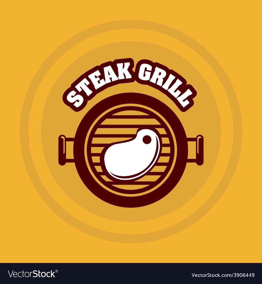 Grill menu vector | Price: 1 Credit (USD $1)