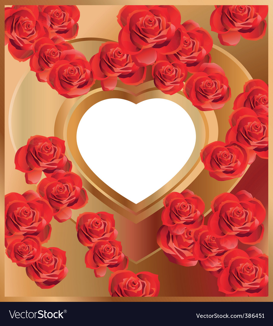 Heart frame 3 vector | Price: 1 Credit (USD $1)