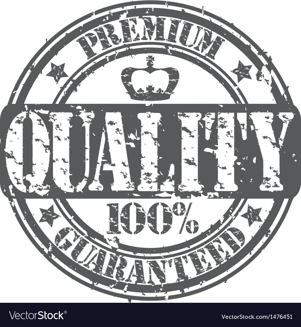 Premium quality guaranteed 100 percent stamp vector | Price: 1 Credit (USD $1)