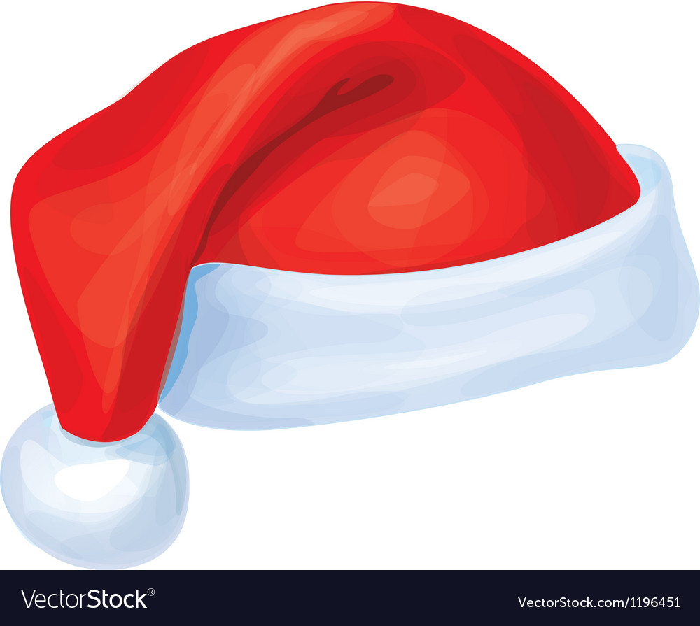 Santa claus hat vector | Price: 1 Credit (USD $1)