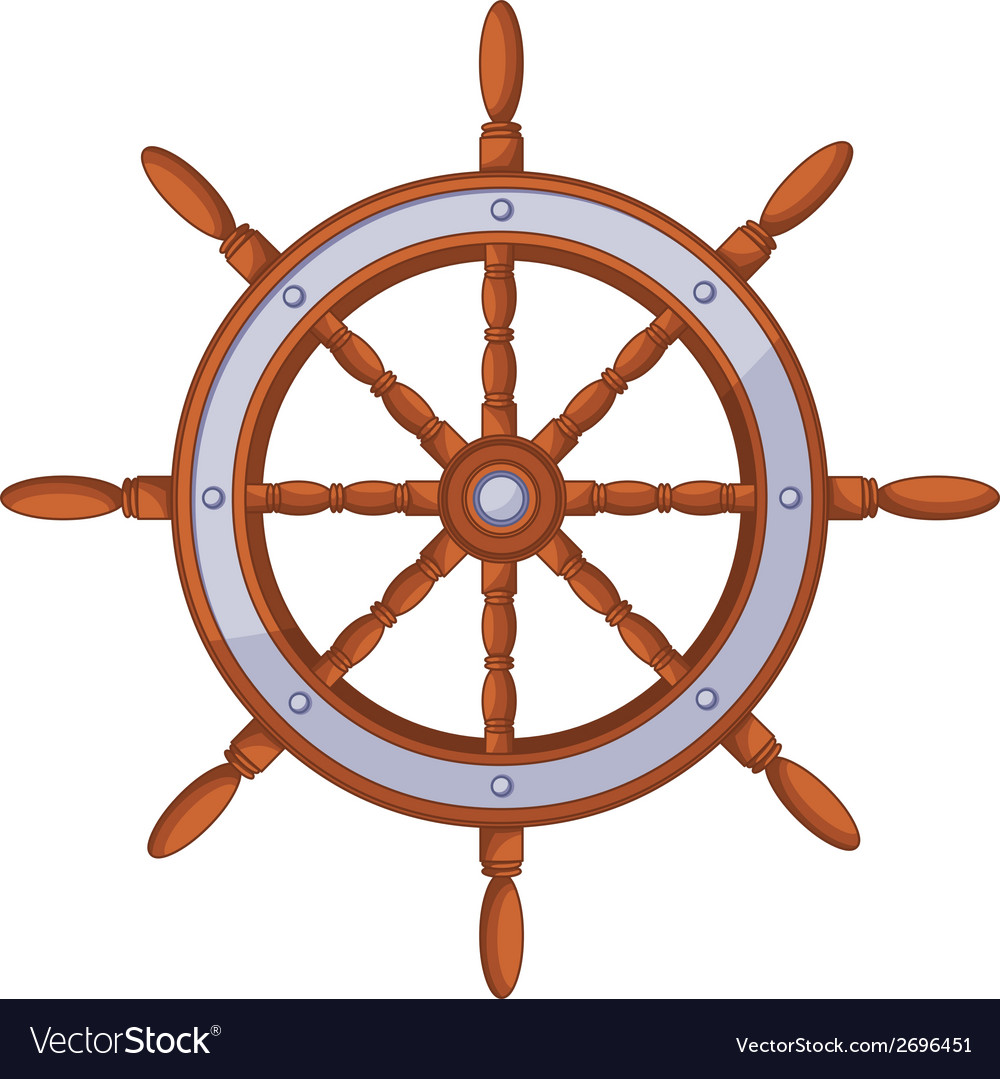 Wood wheel vector | Price: 1 Credit (USD $1)