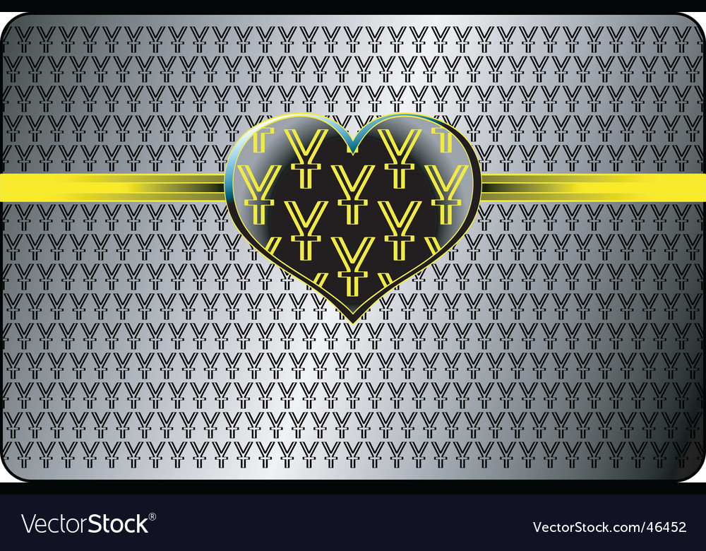 Money and love background vector | Price: 1 Credit (USD $1)