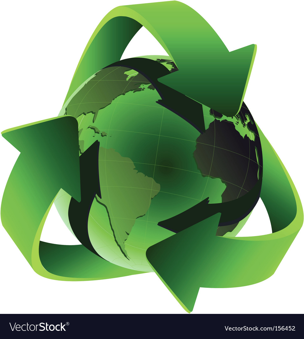 Recycle vector | Price: 1 Credit (USD $1)