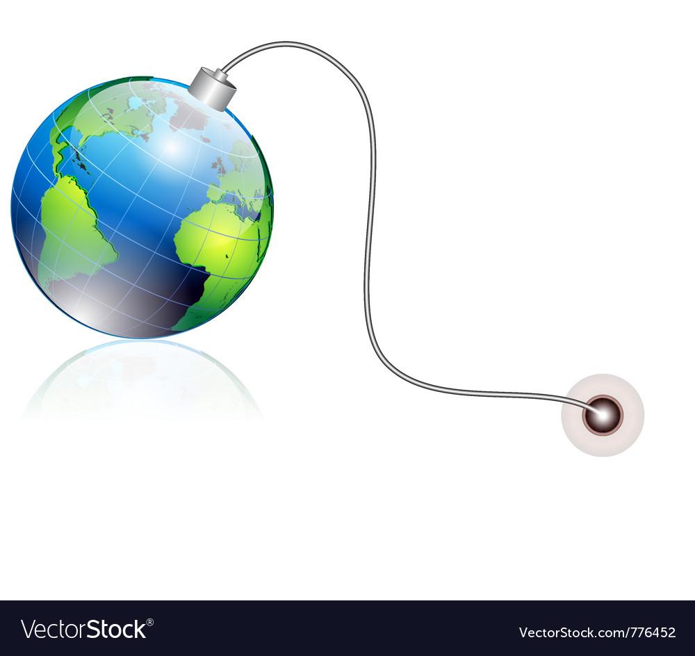 World bomb vector | Price: 3 Credit (USD $3)