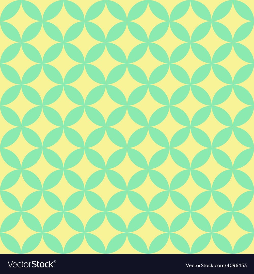 Abstract retro geometric pattern vector | Price: 1 Credit (USD $1)