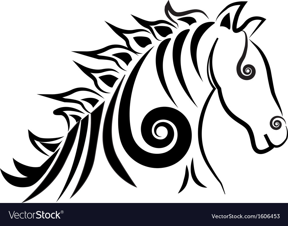 Horse logo vector | Price: 1 Credit (USD $1)
