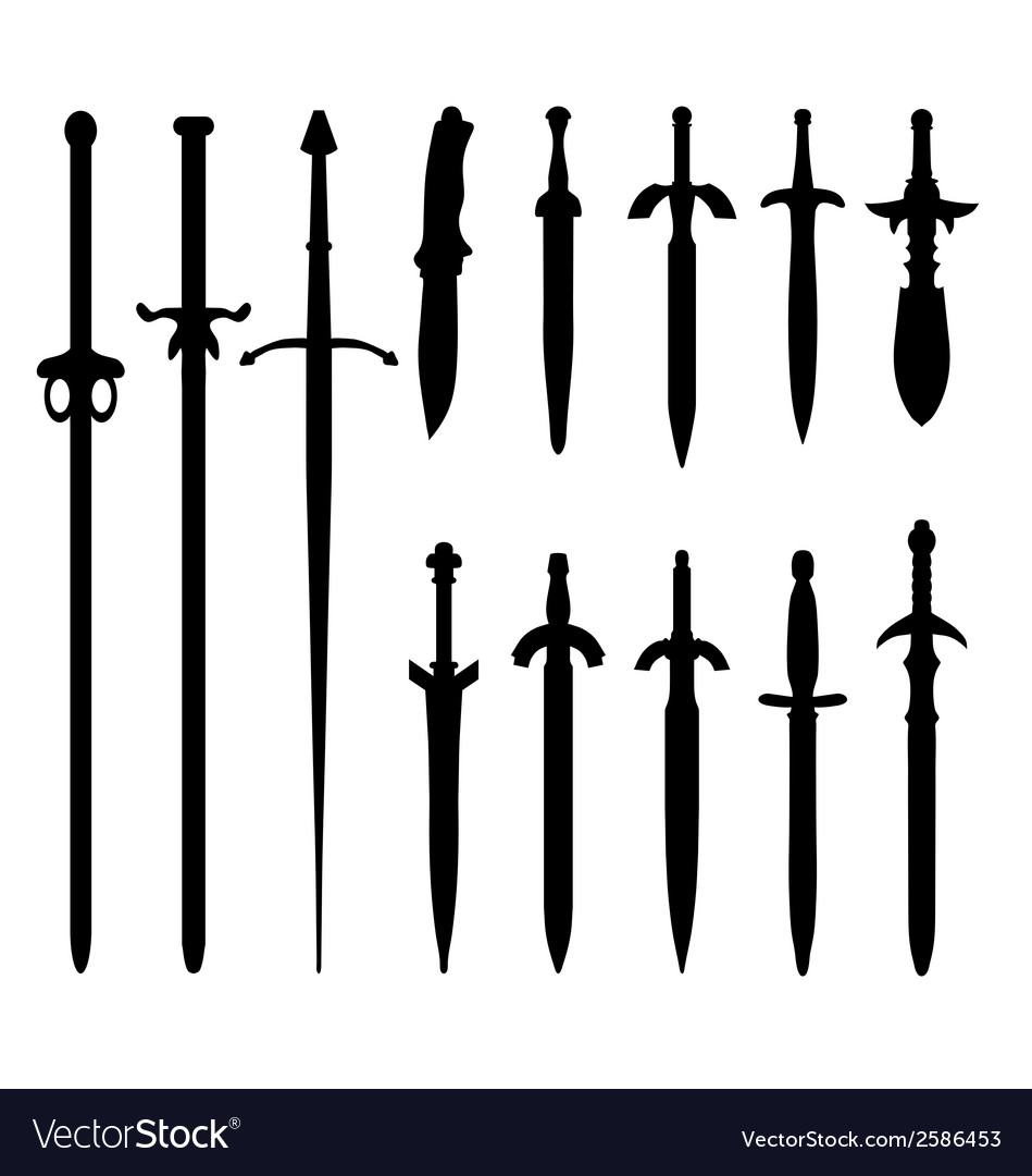 Swords 2 vector | Price: 1 Credit (USD $1)