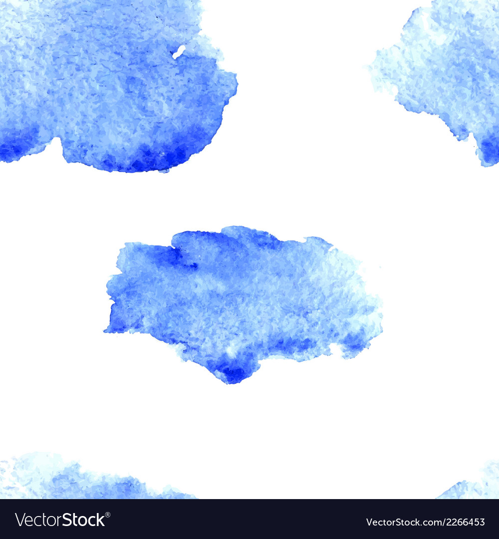 Watercolor cloud pattern vector | Price: 1 Credit (USD $1)