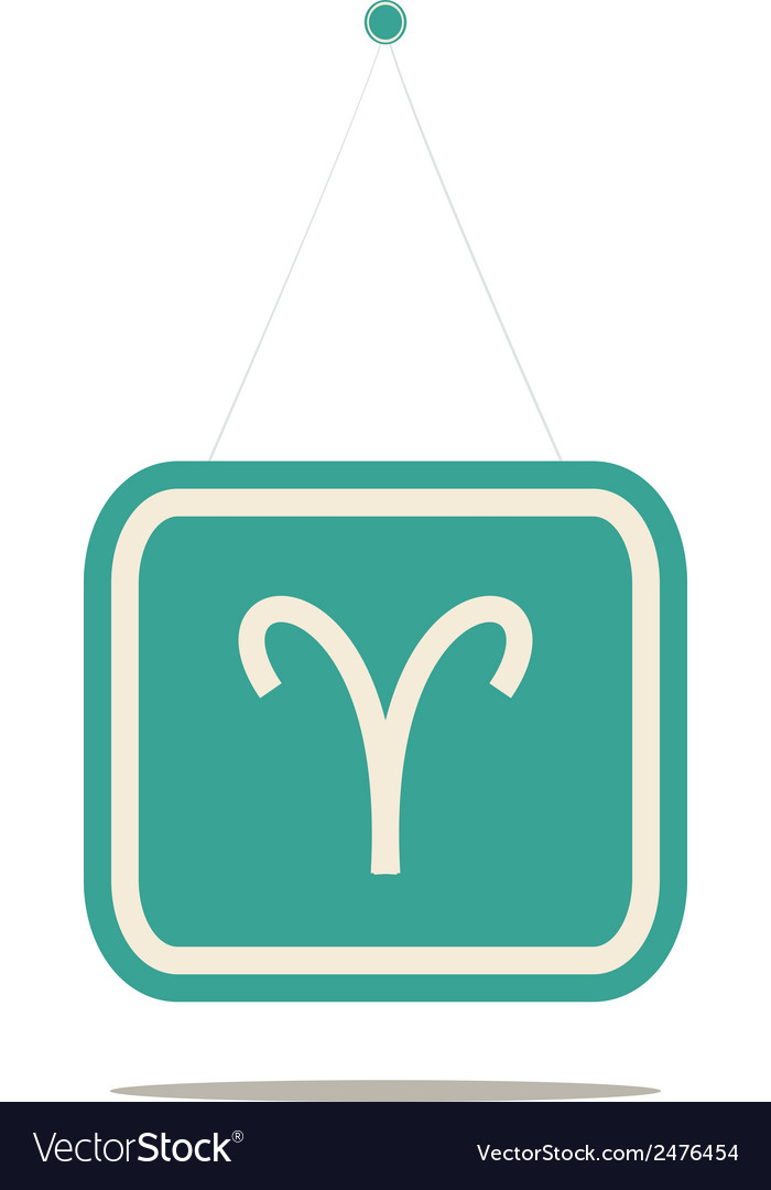 Aries sign vector | Price: 1 Credit (USD $1)