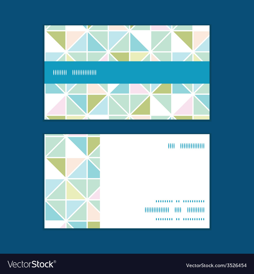 Colorful pastel triangle texture horizontal stripe vector | Price: 1 Credit (USD $1)