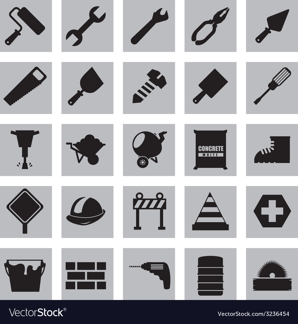 Construction design vector | Price: 1 Credit (USD $1)