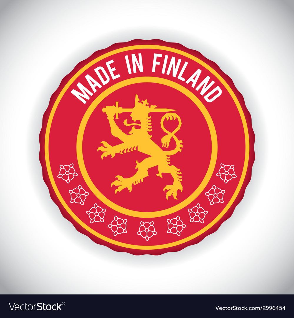 Finland design vector | Price: 1 Credit (USD $1)