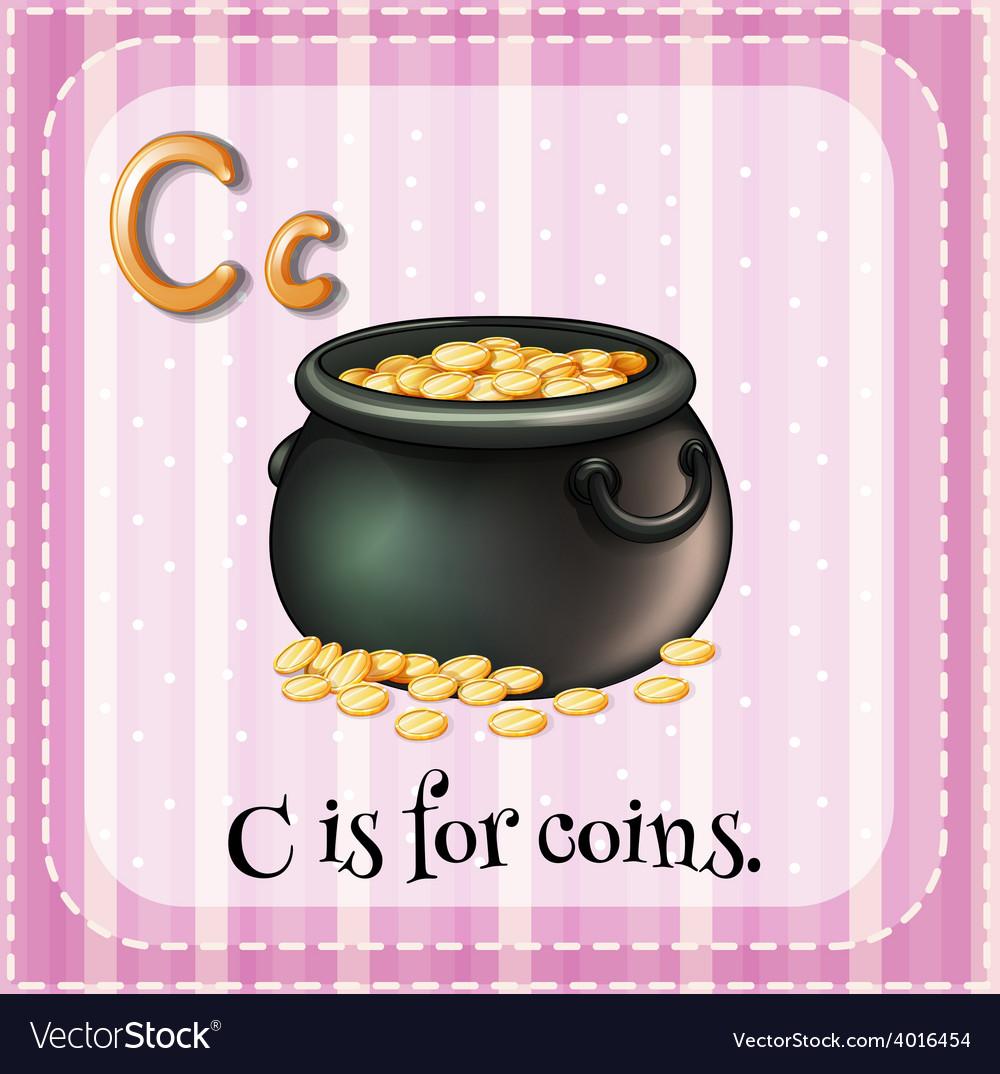 Letter c vector   Price: 1 Credit (USD $1)