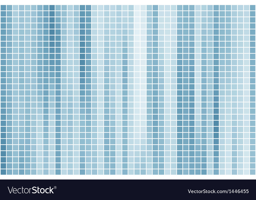 Blue tile background vector | Price: 1 Credit (USD $1)