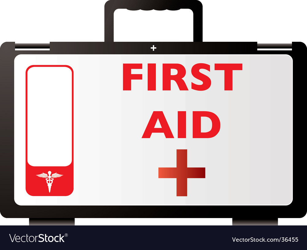 First aid red vector | Price: 1 Credit (USD $1)