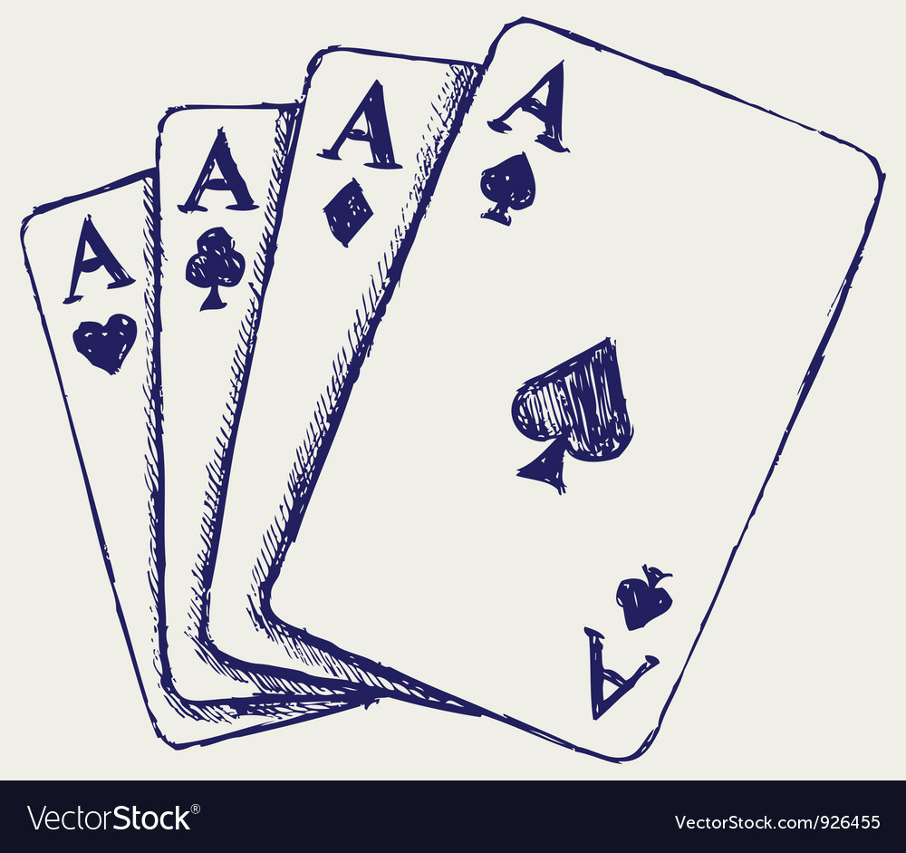 Gambling sketch vector | Price: 1 Credit (USD $1)