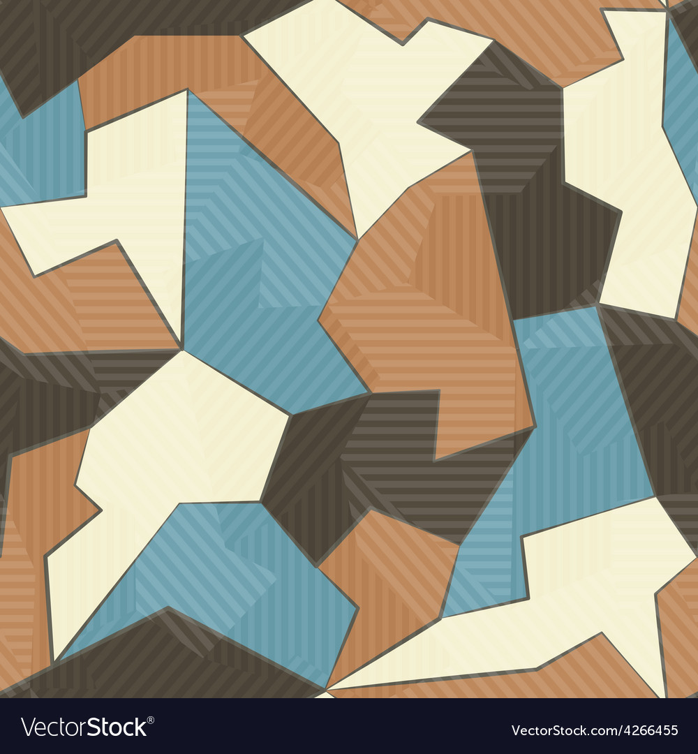 Retro textile seamless pattern vector | Price: 1 Credit (USD $1)