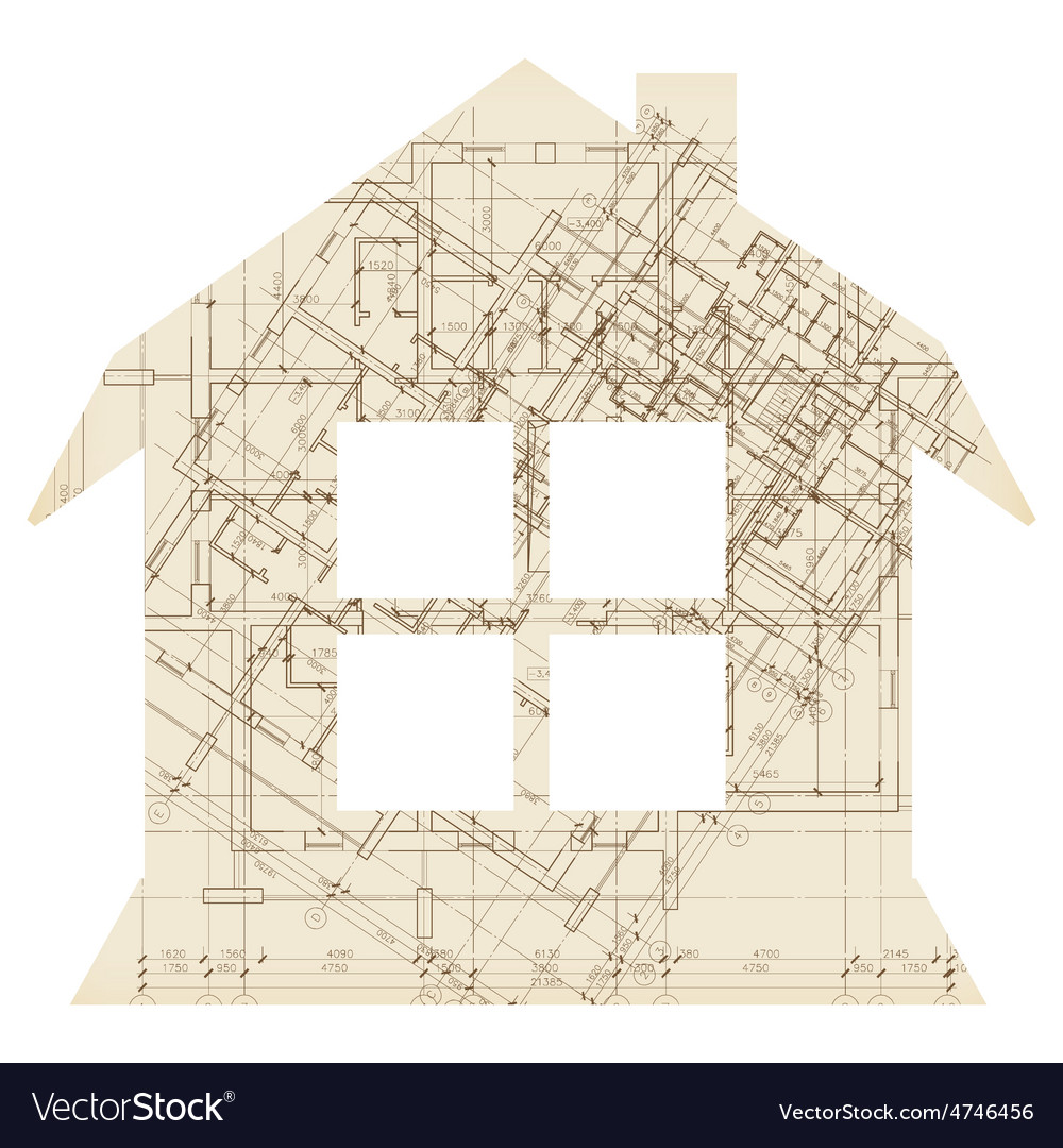 House with window architecture icon vector | Price: 1 Credit (USD $1)