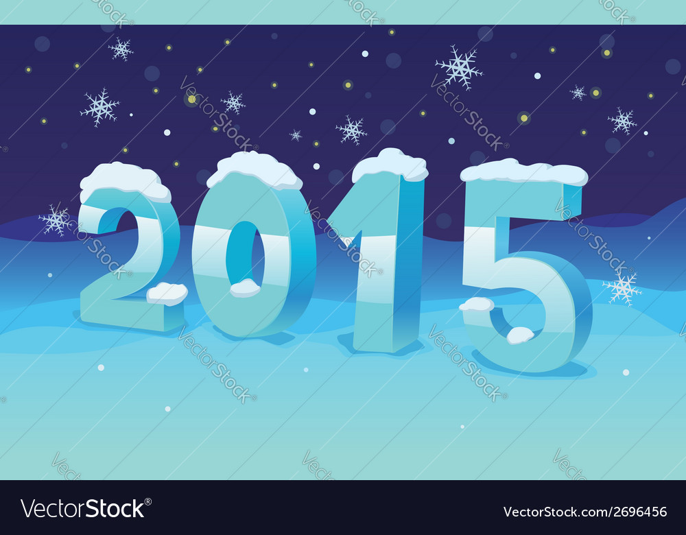 Turn of the year vector | Price: 1 Credit (USD $1)