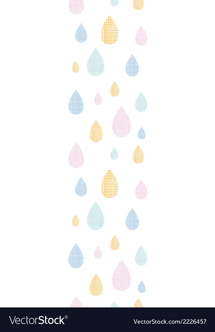 Abstract textile colorful rain drops vertical vector | Price: 1 Credit (USD $1)