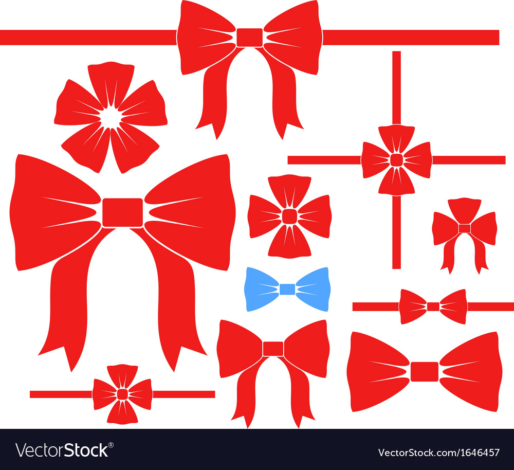 Bow set vector | Price: 1 Credit (USD $1)