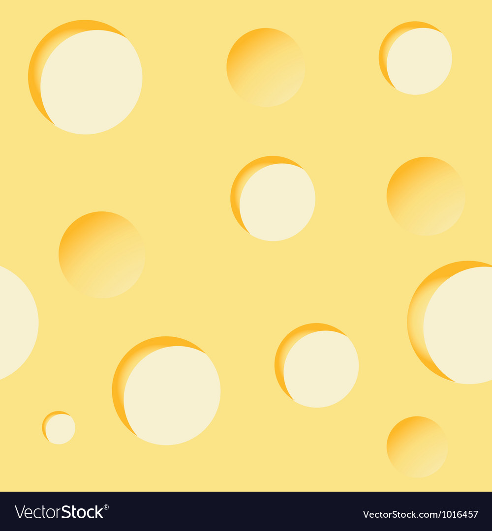 Cheese background seamless vector | Price: 1 Credit (USD $1)