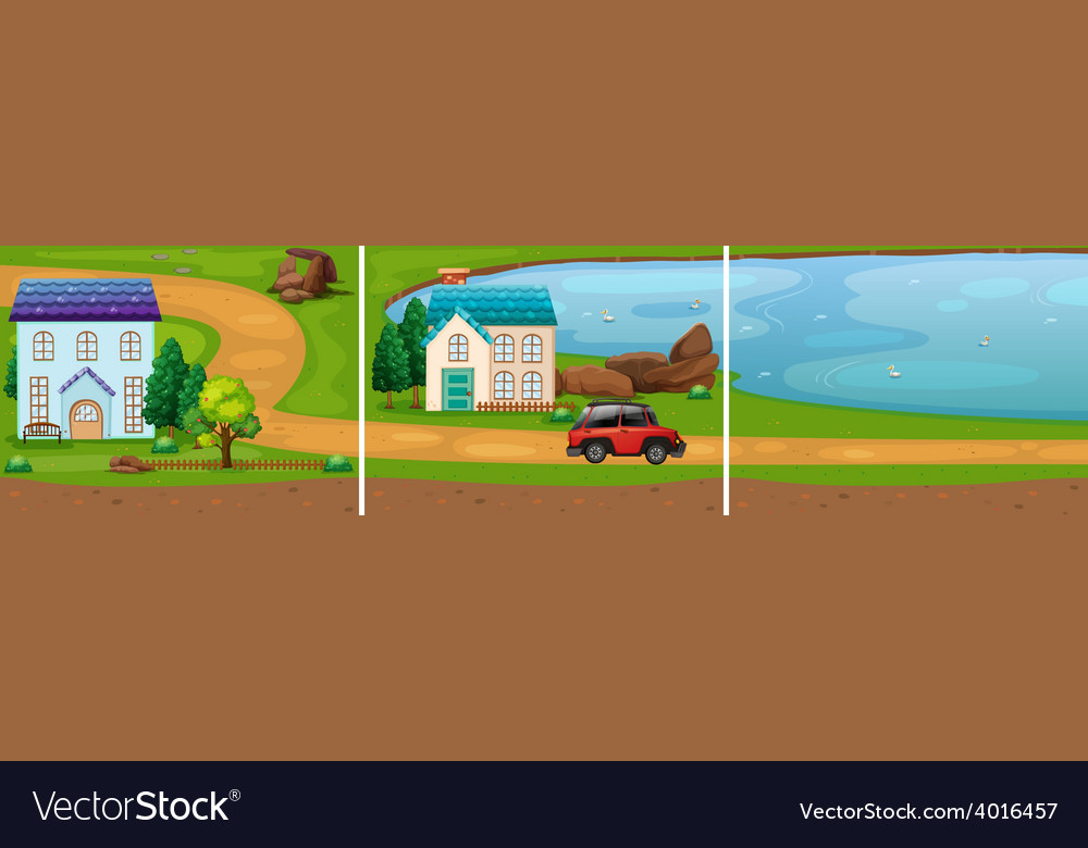 Countryside vector | Price: 3 Credit (USD $3)