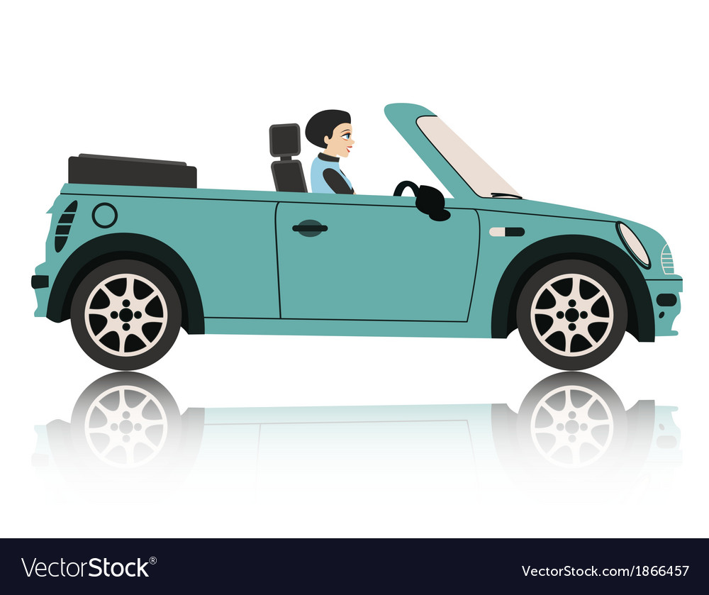 Mini car vector | Price: 1 Credit (USD $1)