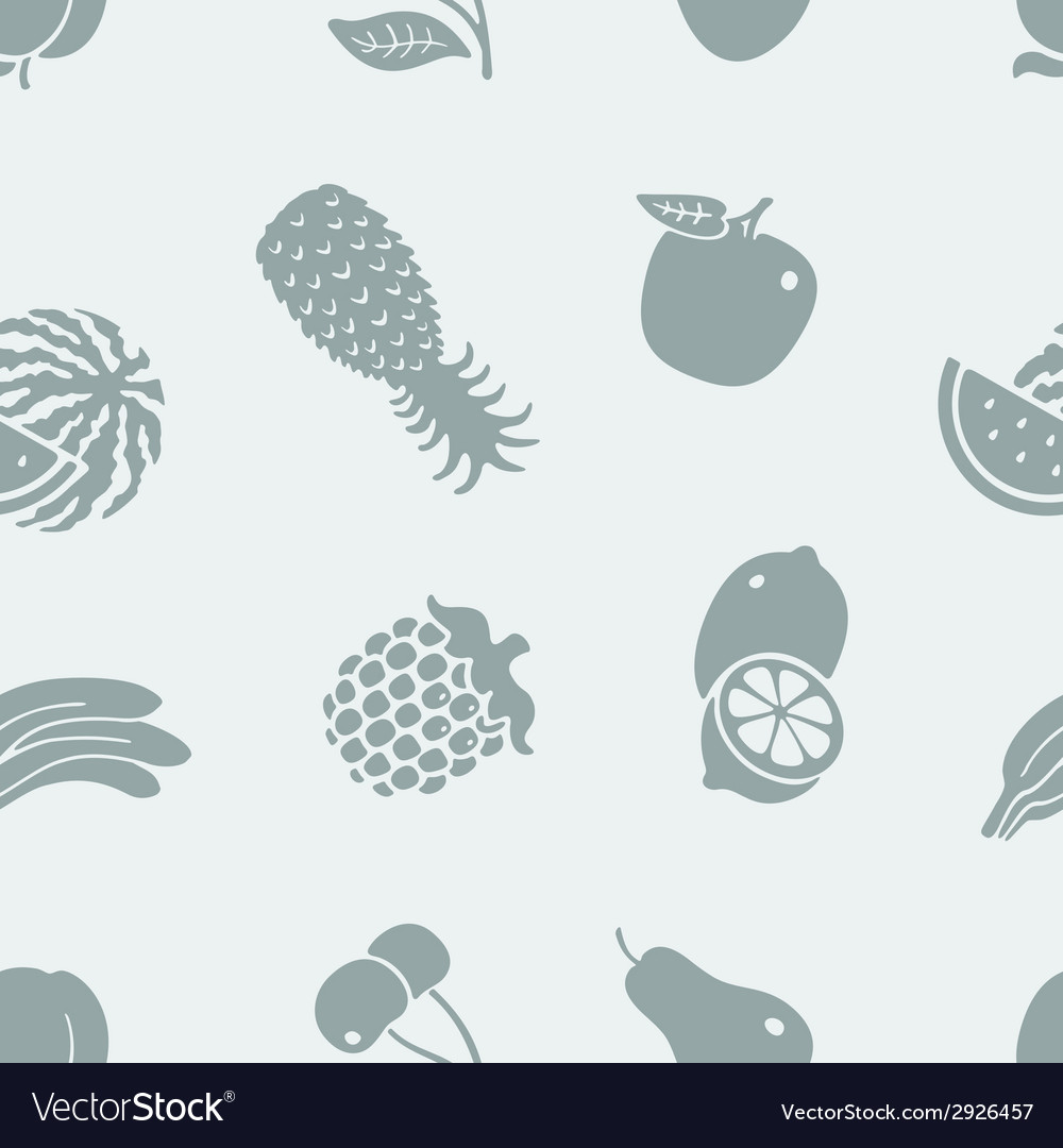 Pattern of fruit vector | Price: 1 Credit (USD $1)