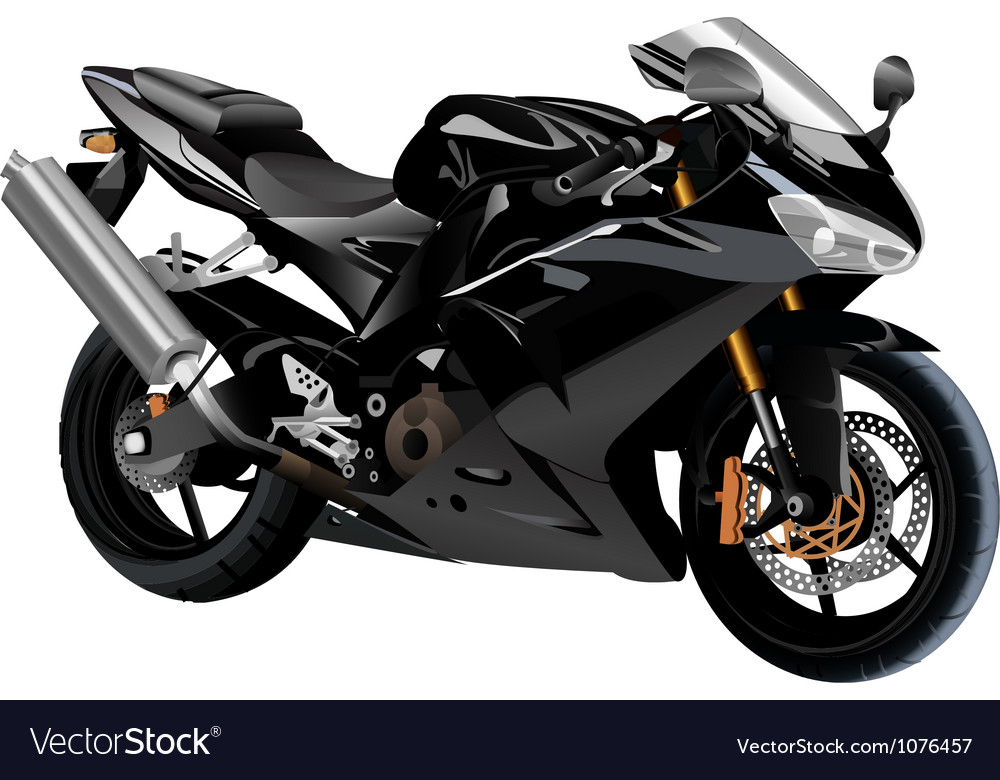 Sport bike vector | Price: 3 Credit (USD $3)