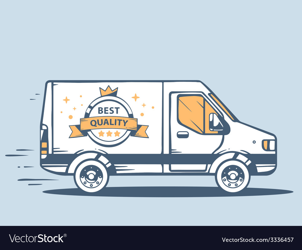 Van free and fast delivering best quality vector | Price: 3 Credit (USD $3)