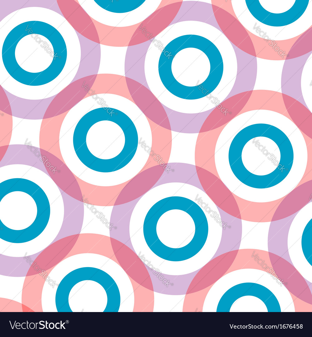 Background with pink circles vector | Price: 1 Credit (USD $1)