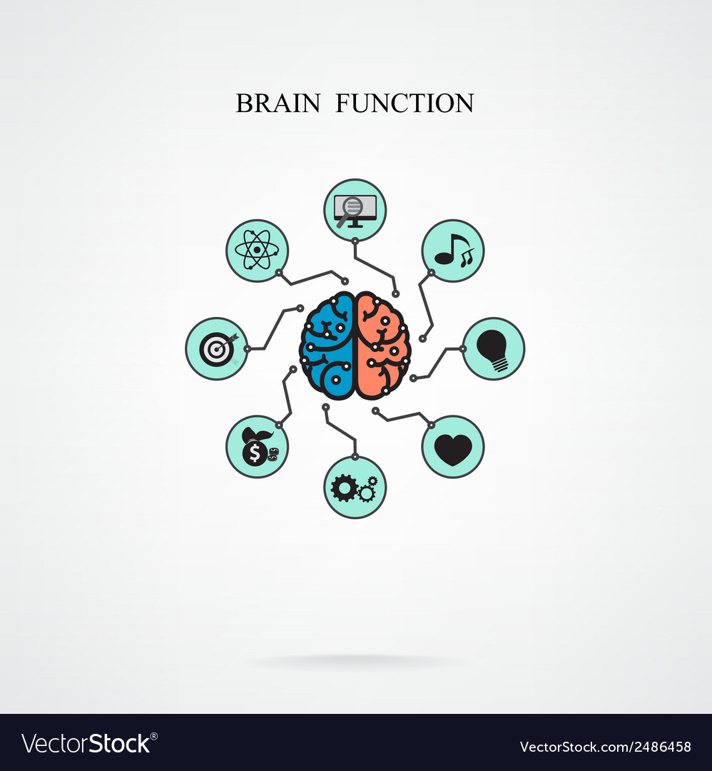 Brain function vector | Price: 1 Credit (USD $1)